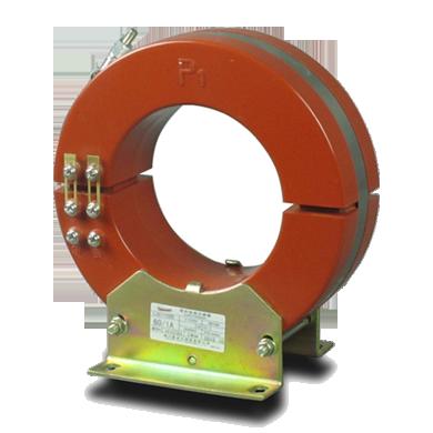 零序电流互感器为单匝穿心式电流互感器