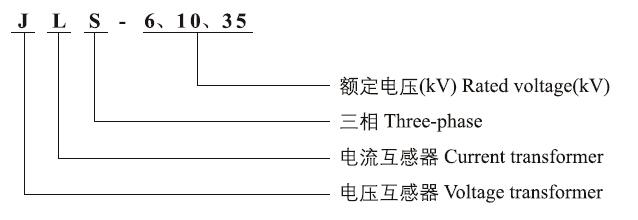 JLS-6.10.35高压电力计量箱型号含义