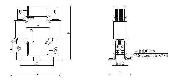 LYM-0.5电流互感器外形尺寸