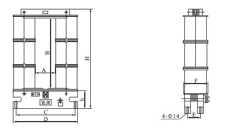 LYM-0.5电流互感器安装尺寸