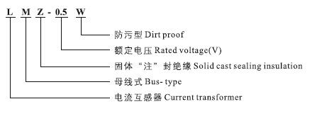 LMZ-0.5W户外电流互感器型号含义
