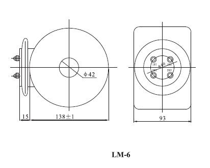 LM-6、10电流互感器外形尺寸