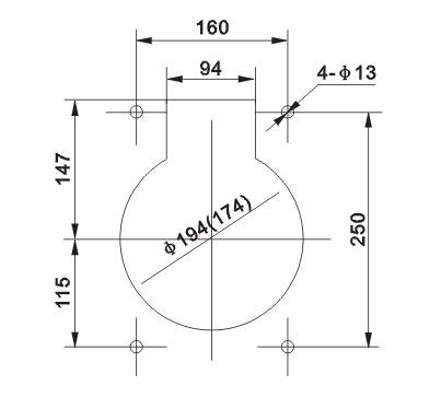 LFZB9-10电流互感器外型尺寸