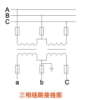 10a(b)电压互感器接线图