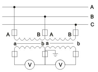 jszv12-10r电压互感器接线图