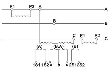 JLSZW-6、10组合互感器接线图