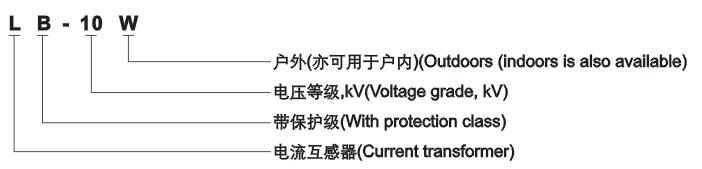 LB-10W电流互感器型号含义